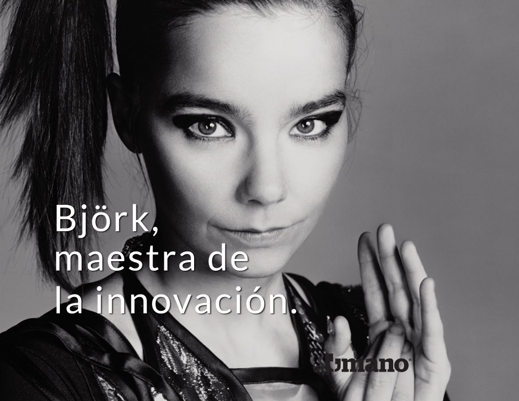 Björk, maestra de la innovación.