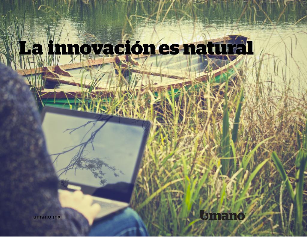 La innovación es natural.